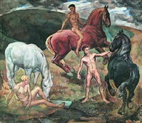 young men and horses by kenneth. bates