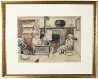 in the kitchen by john leighton