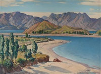 lake wanaka by h. basil honour