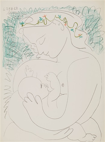 Maternite by Pablo Picasso on artnet