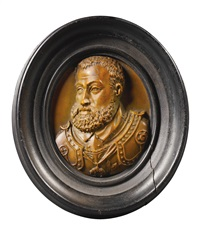 relief roundel with a portrait of king philip ii of spain by italian school (16)