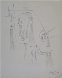 s/t (composition) by wifredo lam