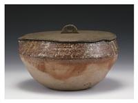 shigaraki water container by seimei tsuji