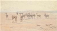 in the desert by john charles dollman