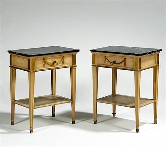 paire de chevets by maison jansen on artnet. Black Bedroom Furniture Sets. Home Design Ideas