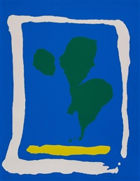 air frame (from new york ten portfolio) by helen frankenthaler