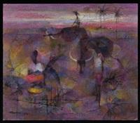 en el campo by romeo v. tabuena