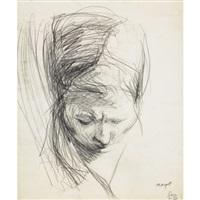 untitled (head) by lee lozano
