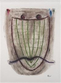 portrait d'homme à la moustache by rem