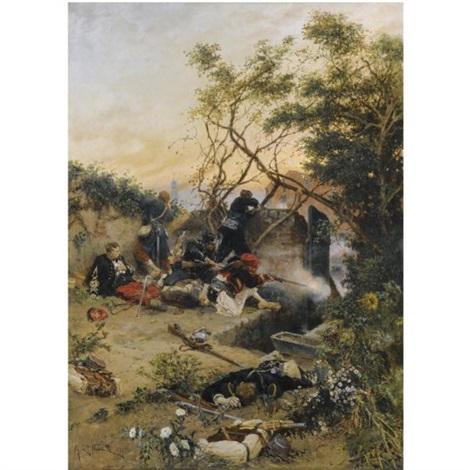 essuyant le feu by alphonse marie de neuville