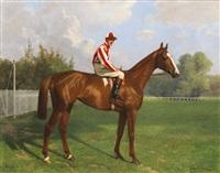 titina mit jockey bernard carlslake by richard benno adam