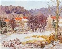 vallée de chevreuse en hiver by marie-lucie nessi-valtat