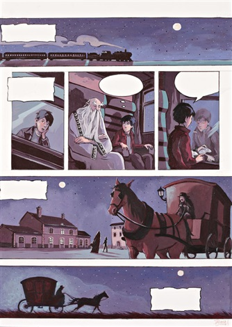 planche originale n°7 for le secret des lutins by tatiana domas