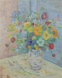 vaso di fiori by oscar saccorotti
