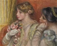 la loge ou jeunes femmes au théâtre by pierre-auguste renoir