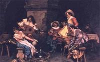 serenading the beauty by zeffirino carestia