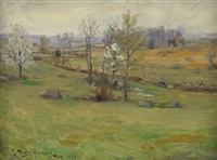 rolling fields by charles morris young