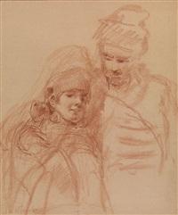 a boyar couple by konstantin egorovich makovsky
