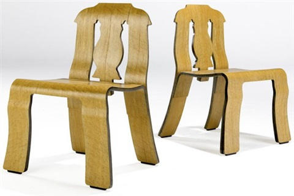 queen anne chairs (pair) by robert venturi & Queen Anne chairs pair by Robert Venturi on artnet