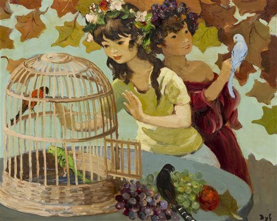 les enfants à la cage by marcel dyf