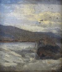 les rives du lac by francois-louis-david bocion