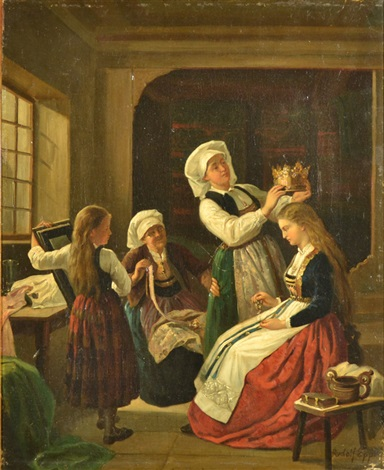 preparing the bride just married 2 works by rudolf epp
