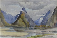 milford sound by peggy spicer