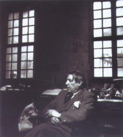 picasso dans son atelier rue des grands augustins paris by peter rose pulham