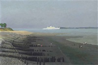 evening, lepe by richard eurich