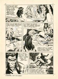 tarzan - the land that time forgot by russ manning