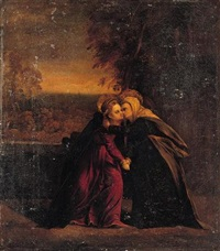 the visitation by battista (de luteri) dossi