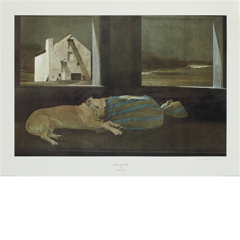 night sleeper by andrew wyeth