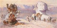 le sphinx de gizeh by joseph austin benwell