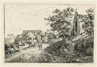 die kapelle (die wegkapelle an der rothenburger straße bei görlitz?) (+ das helle haus, lrgr; 2 works) by christoph nathe