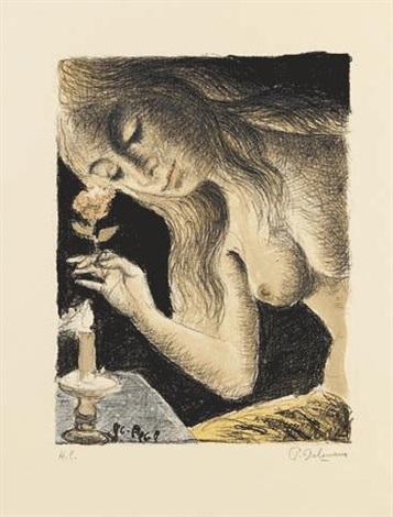 la sirène by paul delvaux