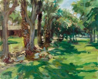 park view (+ forest view; 2 works) by keith ward