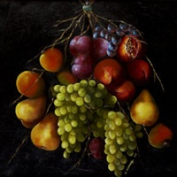 bouquet of fruit by susan conneff