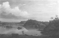 gloucester habor scene by mary blood mellen