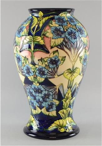 Moorcroft Vase Profusion Design By Philip Gibson On Artnet