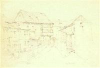 der weg zum stadttor (nimrode) by peter becker