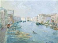 canal grande dal ponte di rialto by carrer battaglia