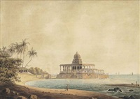 the choultry in the sea off the island of rameswaram by john gantz