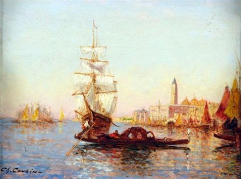view of venice by charles cousin