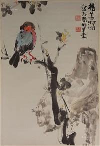 鸟禽 立轴 纸本 by yang shanshen