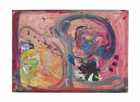 pink phantasie by hans hofmann