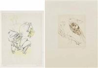soggetti vari (2 works) by hans bellmer