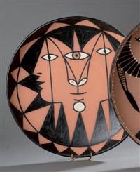 trois faces aux triangles plat by jean cocteau