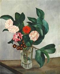 le vase aux camélias by ernest pierre-joseph correleau