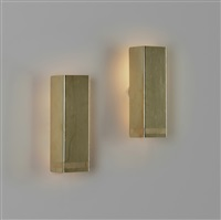 sconces model 10331, pair by paavo tynell