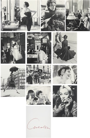avedonparis portfolio of 11 by richard avedon